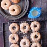 Peach Buttermilk Glazed Donuts {gluten-free} - BoulderLocavore.com