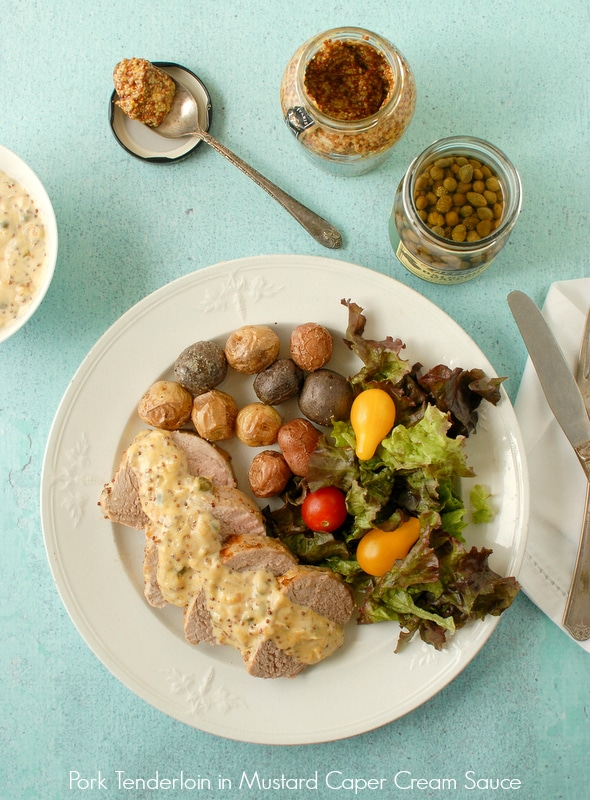 Pork Medallions With Mustard-Caper Sauce Recipes — Dishmaps