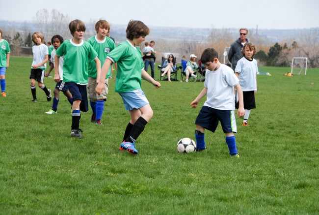 Raising Happy Gluten-Free Kids soccer- BoulderLocavore.com