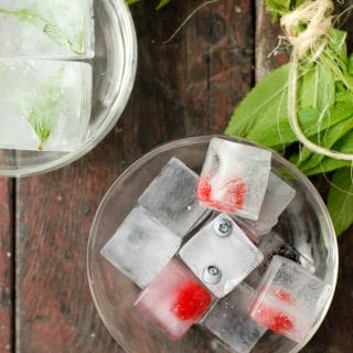 Summer sipping- Fruit and Herb Ice Cubes - BoulderLocavore.com