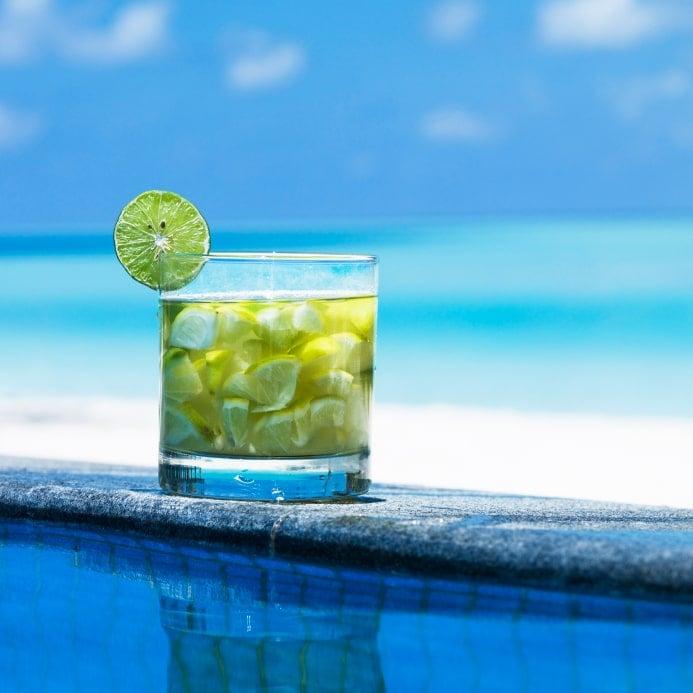 Fresh Lime Cocktail Summer Beach | BoulderLocavore.com