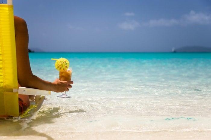 Beach Cocktail Tropical Vacation | BoulderLocavore.com