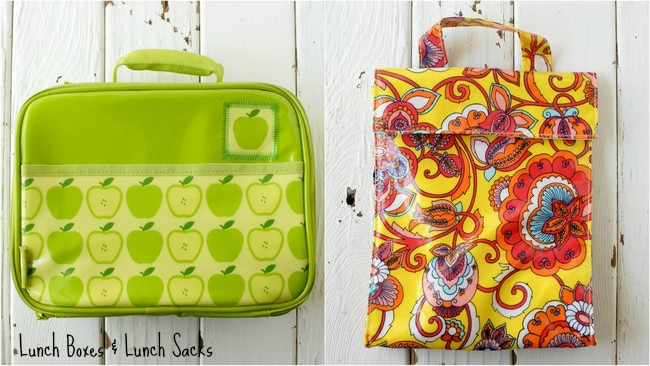 Back-to-School Lunch boxes Lunch Sacks