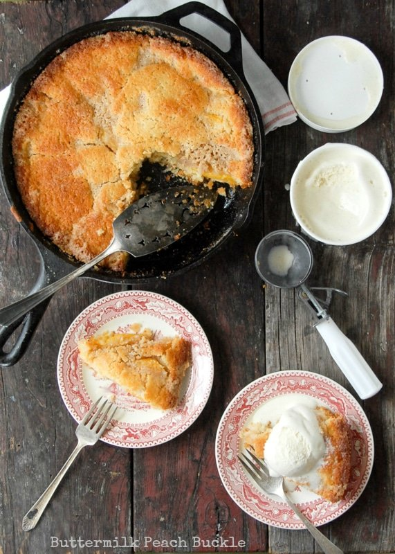 Buttermilk Peach Buckle- BoulderLocavore