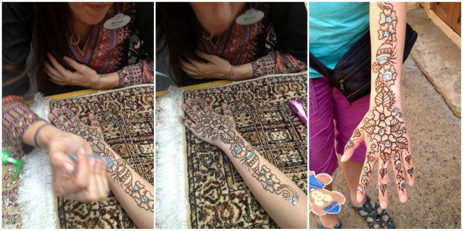Henna Tatoo Morocco Pavillion Epcot World Showcase  BoulderLocavore.com