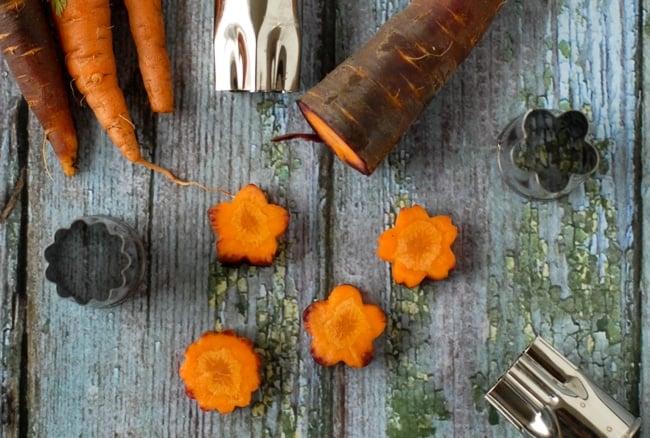 Lunch Ideas- Bento cut Carrots - BoulderLocavore.com
