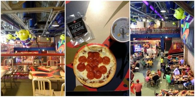 Pizza Plantet Arcade - Hollywood Studios Disney World  BoulderLocvore.com #gluten-free