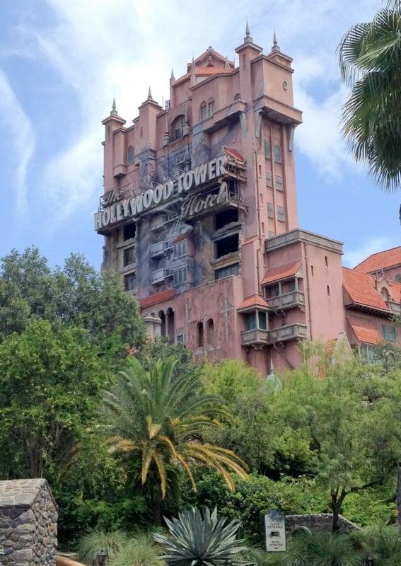Tower of Terror Disney Hollywood Studios  - BoulderLocavore.com