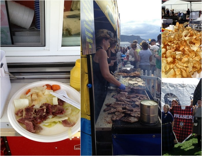 Longs Peaks Scottish-Irish Highland Fest food | BoulderLocavore.com