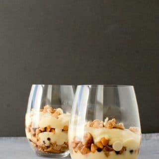 Butterscotch Cinnamon Snickerdoodle Parfaits #glutenfree - BoulderLocavore.com