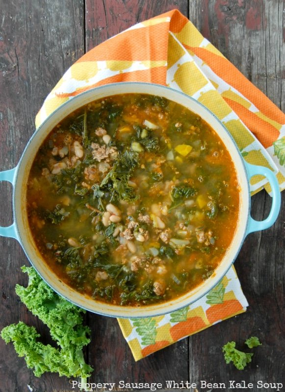 pasta kale and white bean pin it kale white bean white bean kale soup ...