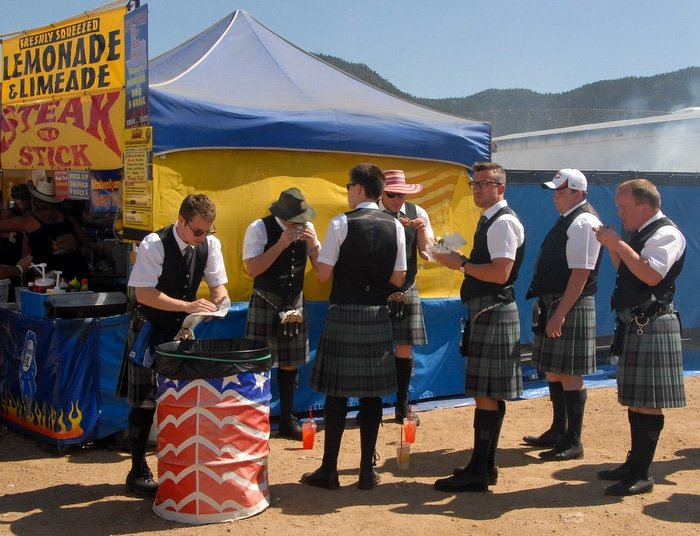 Guys in Kilts Scottish Irish Festival 2013 Estes Park CO - BoulderLocavore.com