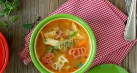 Spicy Farmhouse Chicken and Pasta Soup - BoulderLocavore.com