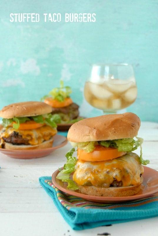 Guacamole Taco Burgers Recipes — Dishmaps