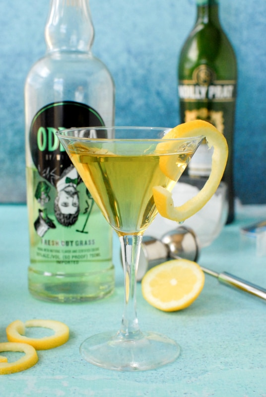 The Grass Cutter Martini - BoulderLocavore.com