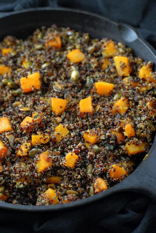 Black Quinoa, Brown-Butter Sage Butternut Squash - BoulderLocavore.com