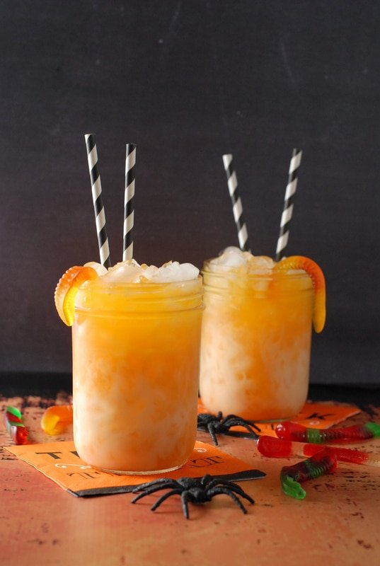 Candy Corn Layered Halloween Sipper - BoulderLocavore.com