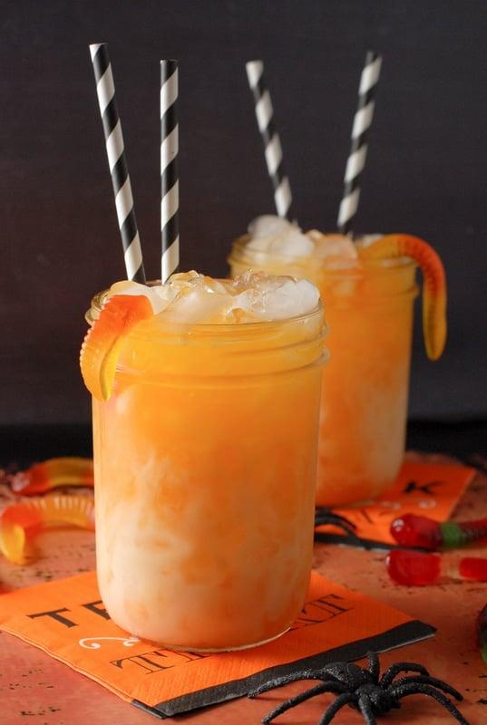 Candy Corn Layered Halloween Sipper - BoulderLocavore.com