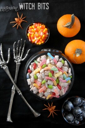 Cinnamon Witch Bits puppy chow