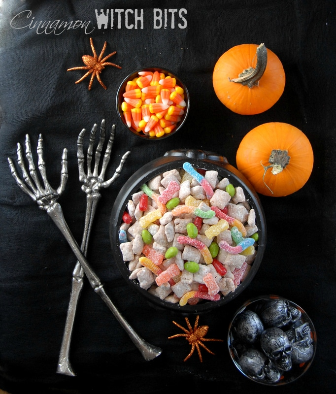 Cinnamon Witch Bits {Puppy Chow}