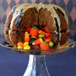 Great Pumpkin Pinata Cake