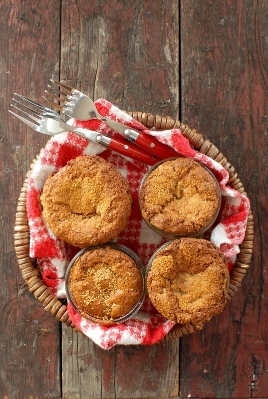 Little Apple Oat Cakes in Jars #glutenfree - BoulderLocavore.com