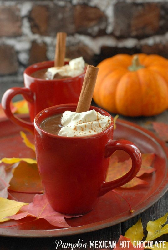 Pumpkin Mexican Hot Chocolate - BoulderLocavore.com