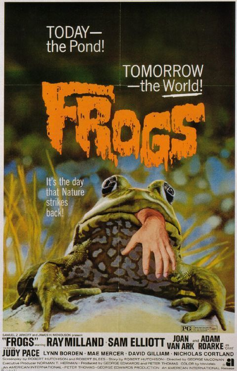 Movie Poster for 'Frogs' | BoulderLocavore.com