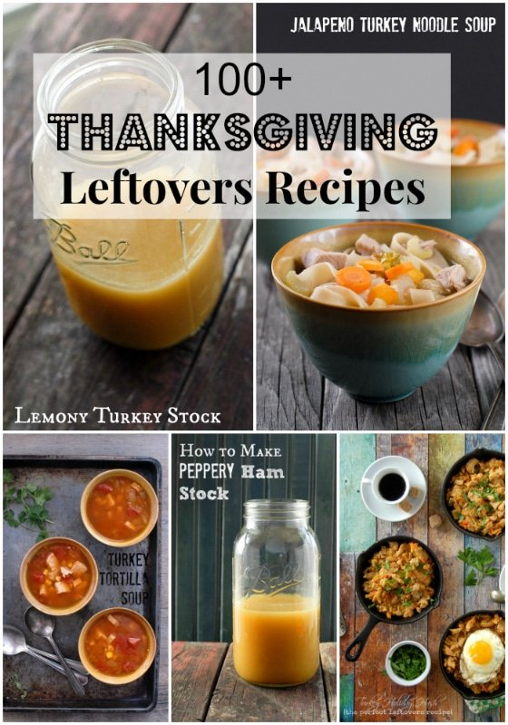 100 Thanksgiving Leftover Recipes - BoulderLocavore.com