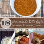 Homemade/DIY Gift Ideas:  18 Seasoning Blends and Extracts