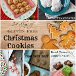 24 Days of Gluten-Free Christmas Cookie Recipes and a GF Gingerbread House Kit Giveaway