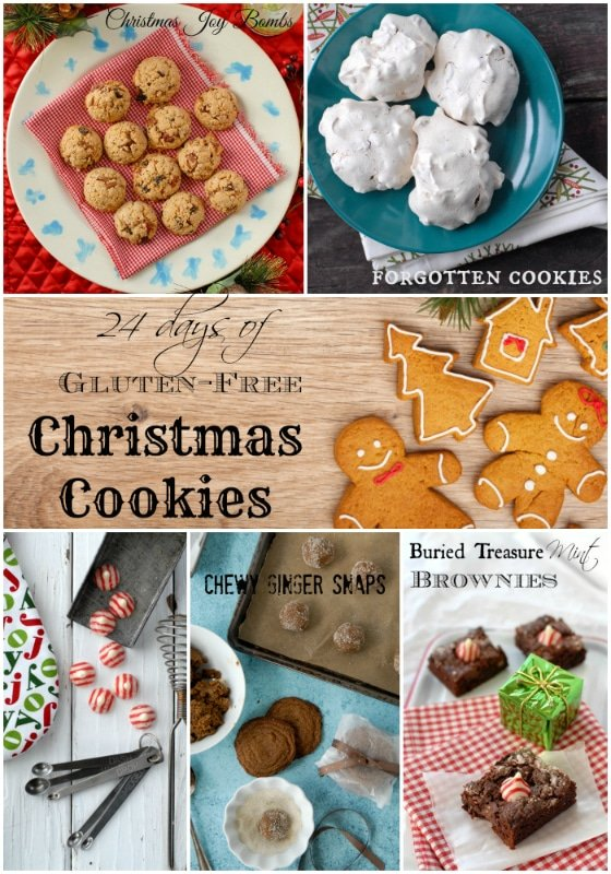 24 Days of Gluten-Free Christmas Cookie recipes - BoulderLocavore.com