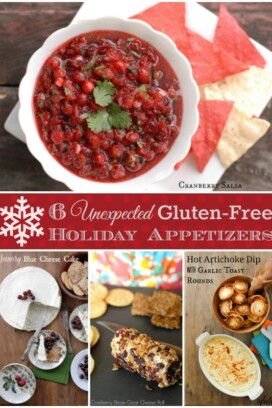 6 Unexpected Gluten-Free Holiday Appetizers title image