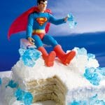 Fortress of Solitude Crystal Cake