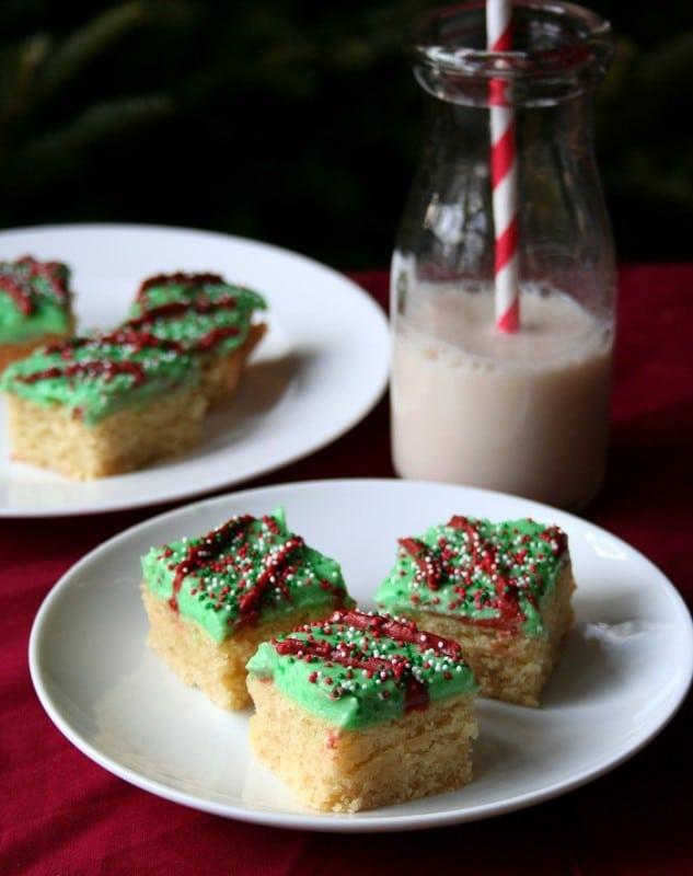 Gluten-Free Holiday Sugar Cookie Bars