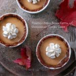 Pumpkin-Spice Panna Cotta with Gingersnap-Toffee Crust