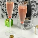 Sparkling Cranberry-Orange Cava cocktail