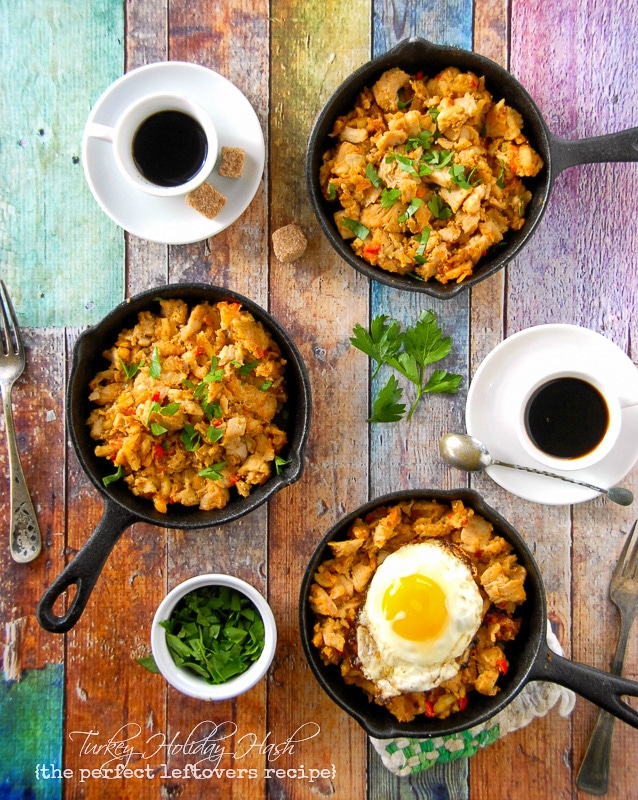 Turkey Holiday Hash - a perfect leftovers recipe - BoulderLocavore.com