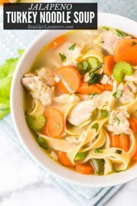 Turkey Noodle Soup title image