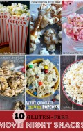 10 Movie Snack Recipes {gluten-free} and a 'We Love Movies' Giveaway {$80}!