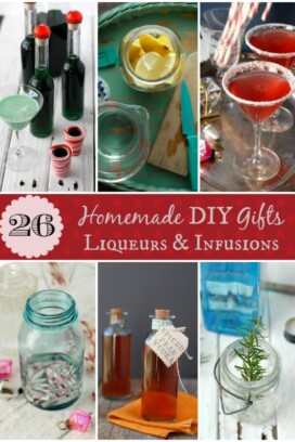 26 Homemade DIY Gifts Liqueurs and Infusions title image