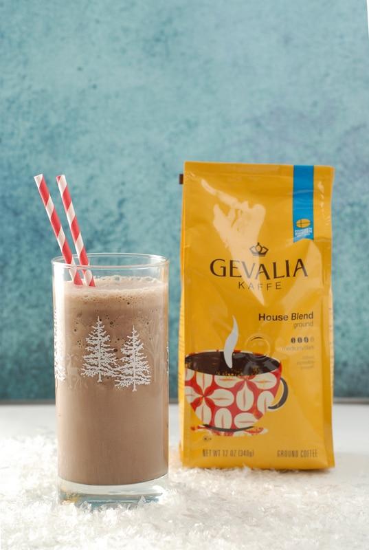Arctic Peppermint Mocha Shake Gevalia Coffee |  BoulderLocavore.com