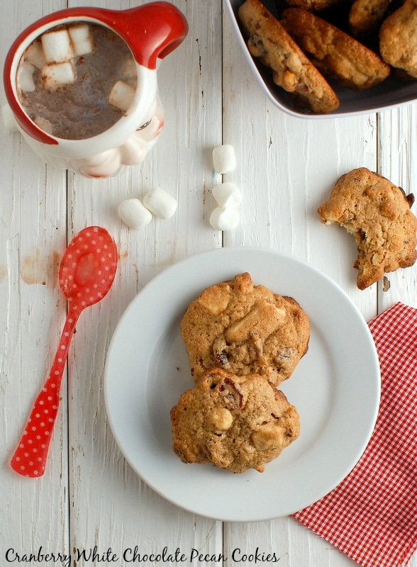 Cranberry White Chocolate Pecan cookies {gluten-free} | Boulder ...