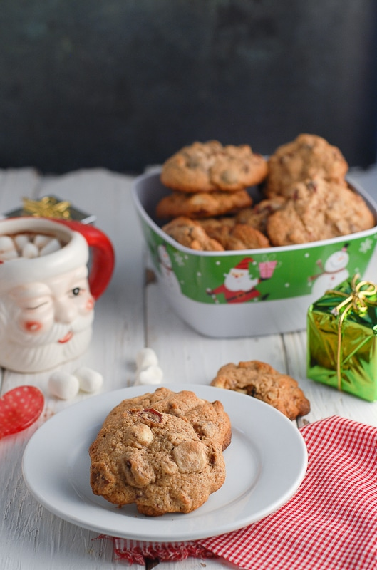 Cranberry White Chocolate Pecan Cookies - BoulderLocavore.com