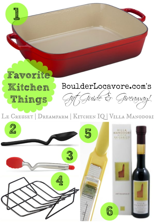 Favorite Kitchen Things: Gift Guide and Giveaway {$360}!