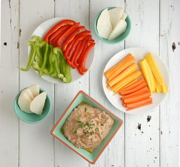 Smoky Black-Eyed Pea Bacon Hummus - BoulderLocavore.com