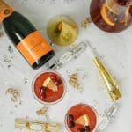 Sparkling Cranberry-Orange Champagne Punch