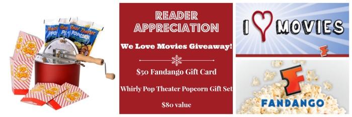 We Love Movies Giveaway BoulderLocavore.com