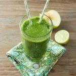 Apple Lime & Leafy Greens Smoothie - BoulderLocavore.com