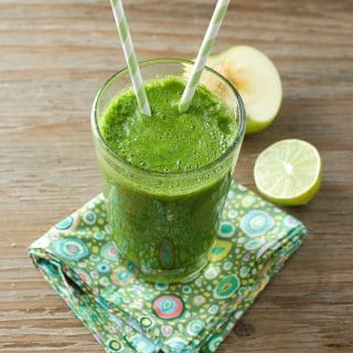 Apple Lime & Leafy Greens Smoothie